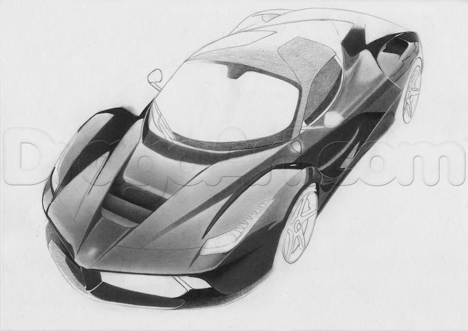 How To Draw A Realistic Sports Car By Jtm93 With Images