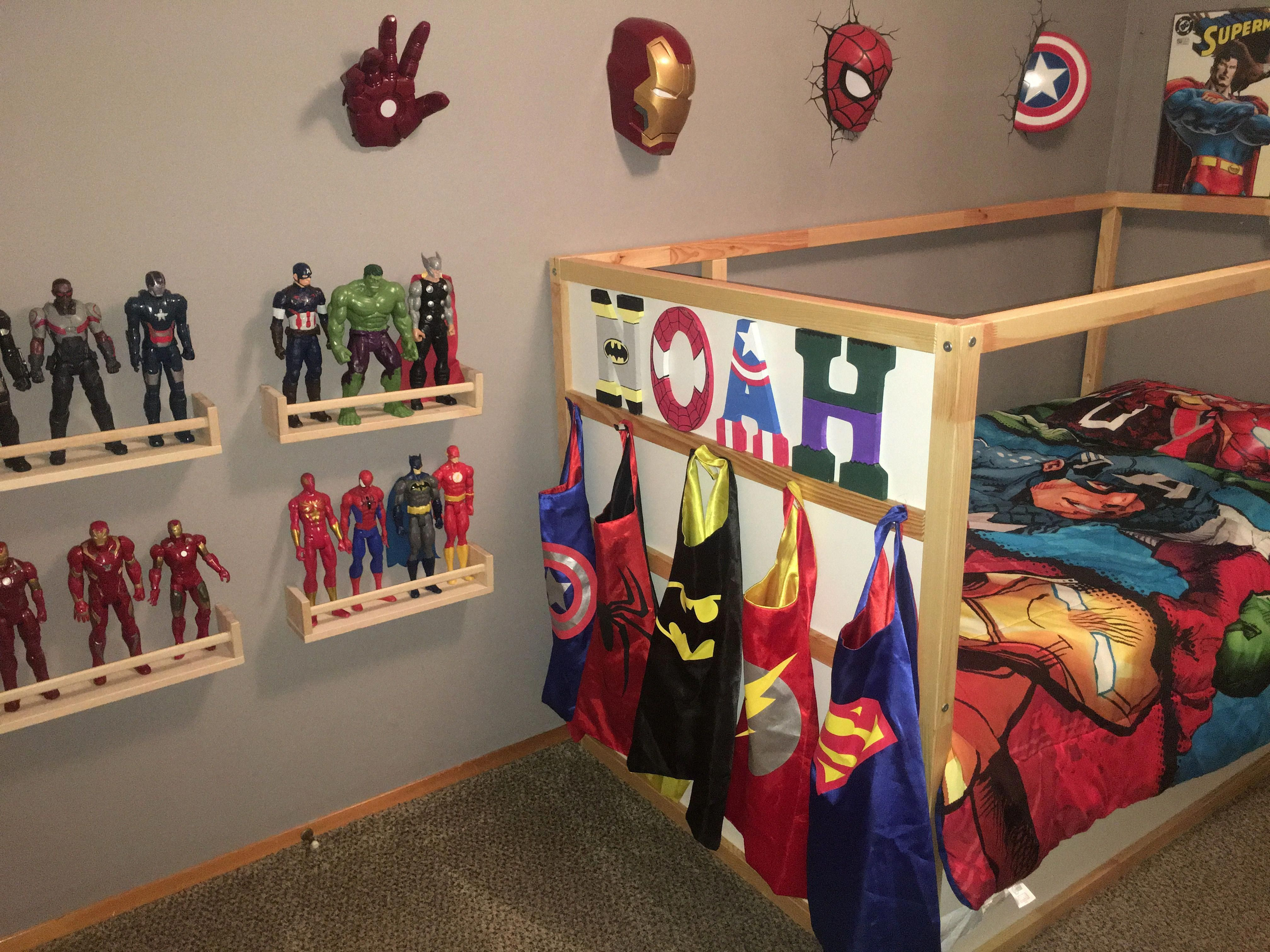 Very Cheap Home Decor Cheap And Easy Decorating Ideas Affordable Room Design Ideas 20190321 Boy Toddler Bedroom Marvel Bedroom Boys Superhero Bedroom