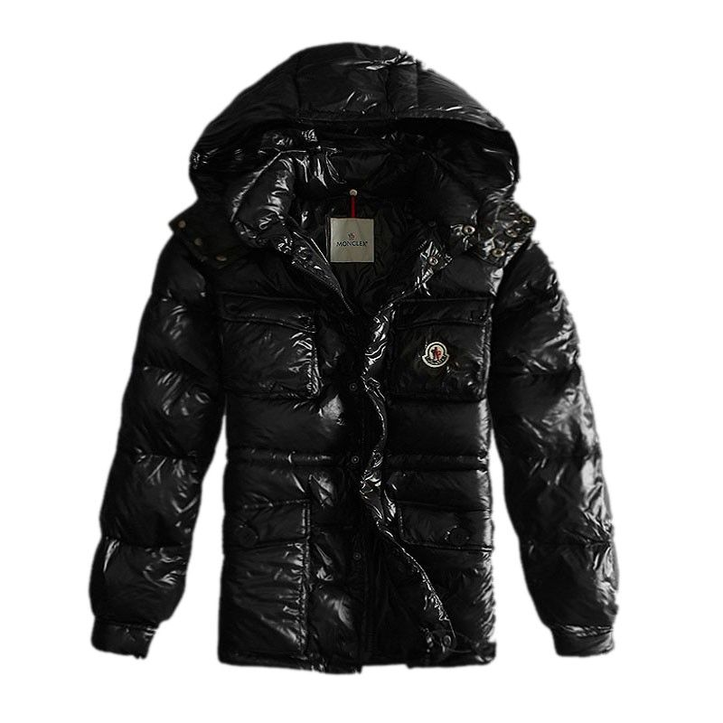 f11f9df59 Moncler Hooded Black Jacket Men Store On Sale Moncler Jackets Men to ...