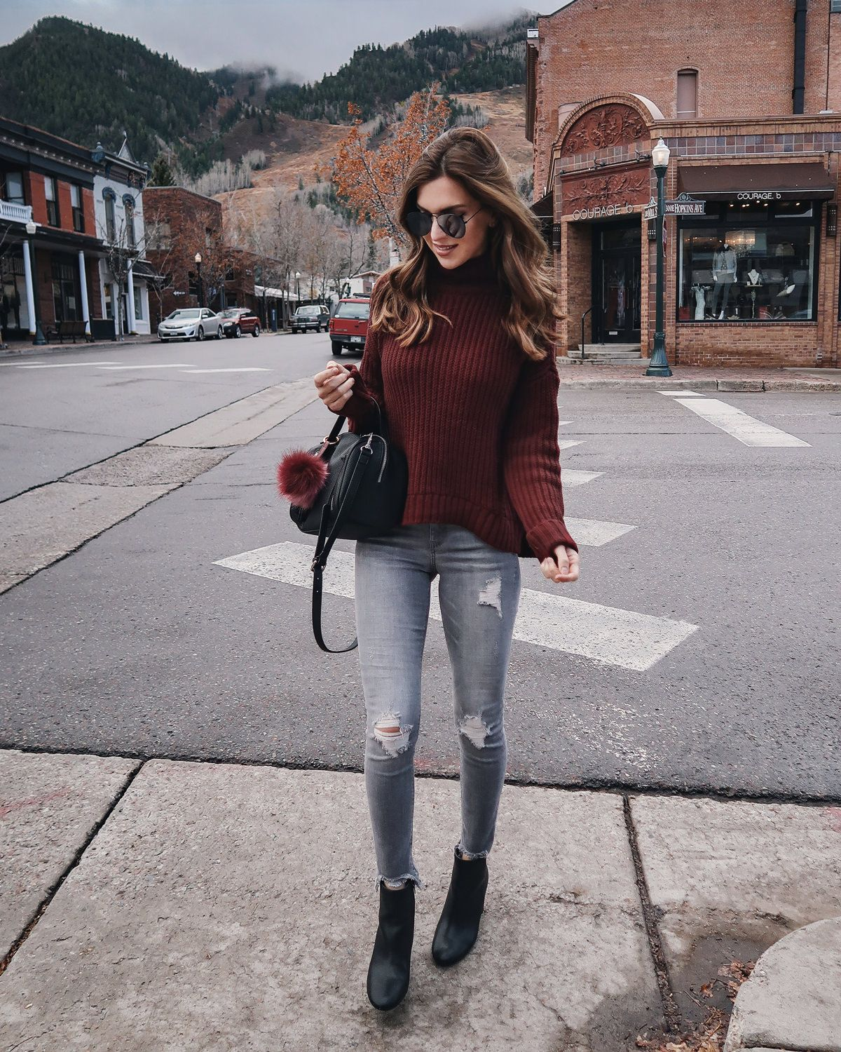 32088b13800 Fall outfit in Aspen