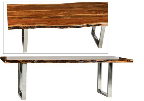 Dovetail Furniture Samali Dining Table Dov2892 Furniture