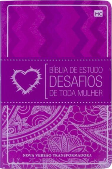 Biblia De Estudos Desafios De Toda A Mulher Nvi Desafios