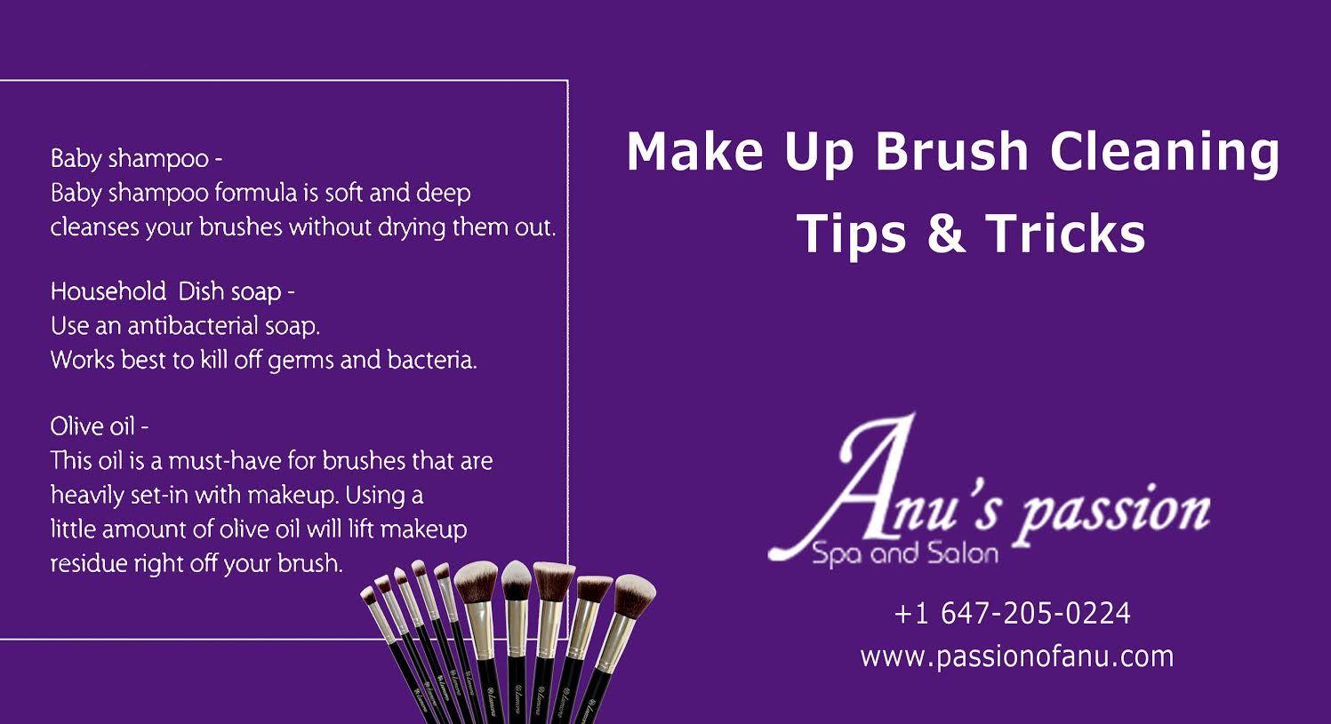 Make Up Brush Cleaning Tips $ Tricks | Cleanser | Pinterest ...