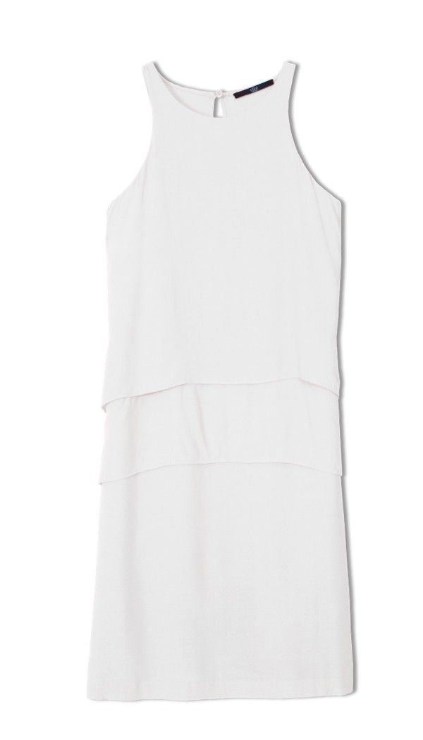 Tibi - Crepe Layered Halter Dress