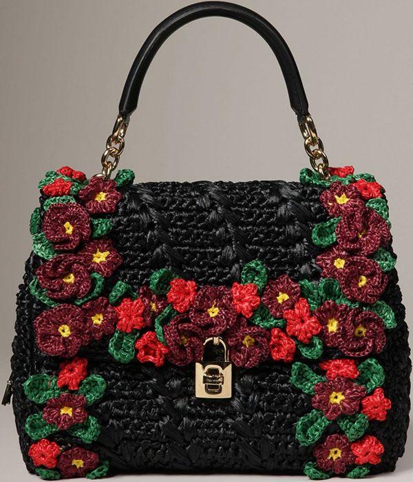 Dolce Gabbana Handbags   Crochet Fashion   Pinterest   Dolce and ... 2395f9989b