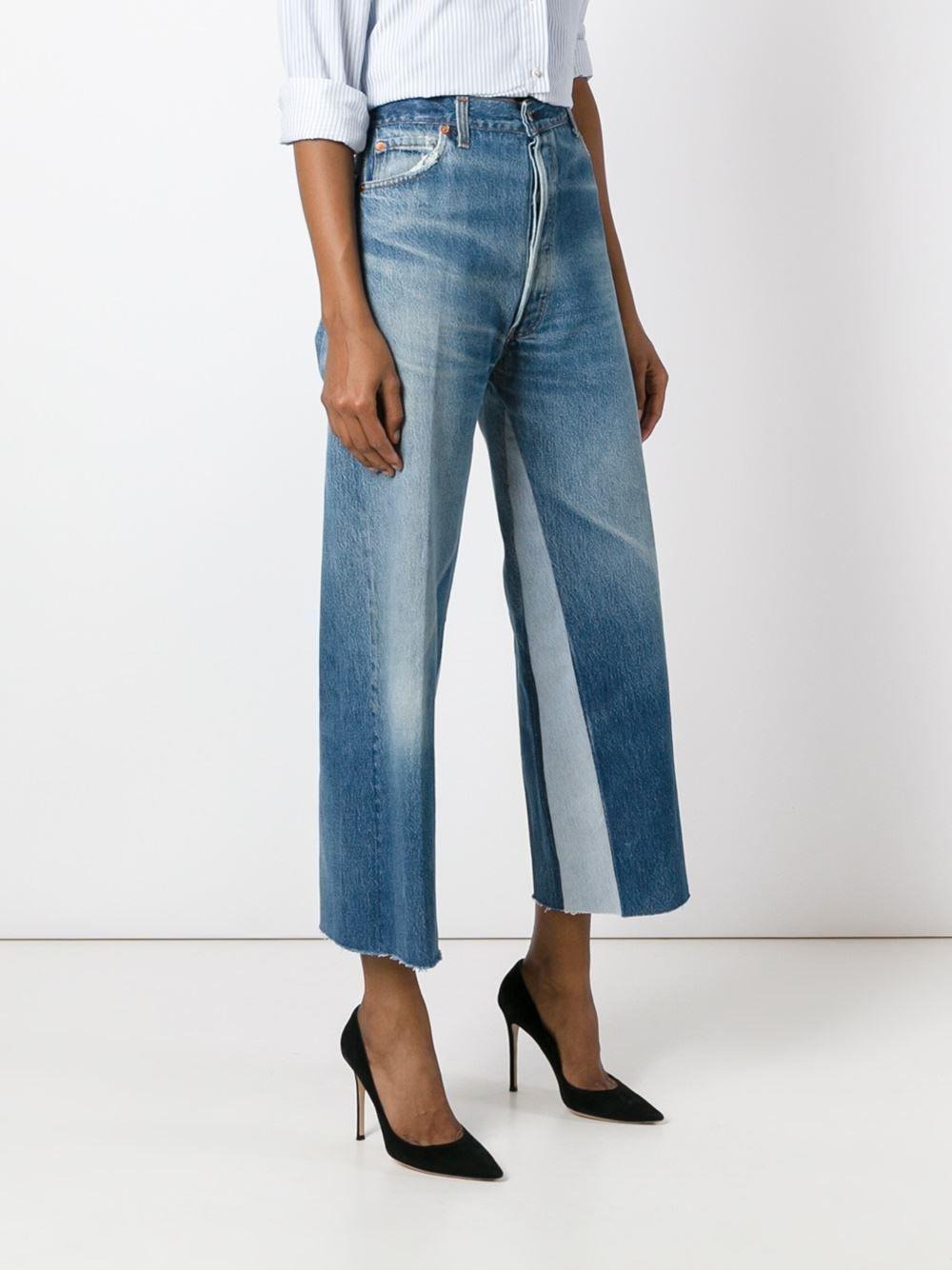 Re Done wide leg jeans  775f2b70cb7