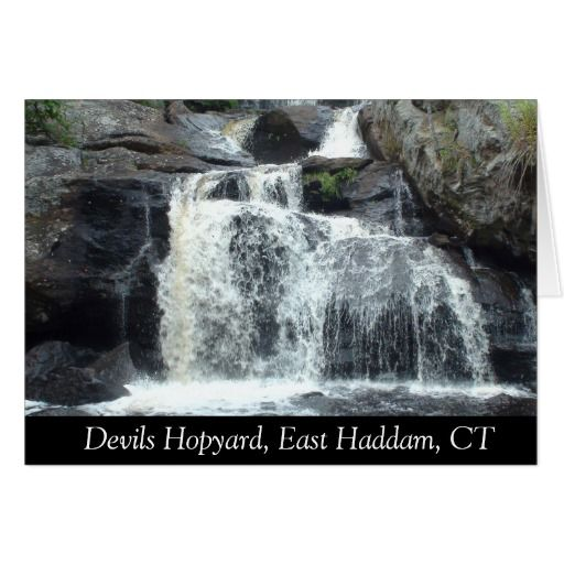 Devils Hopyard, East Haddam, CT Post Card