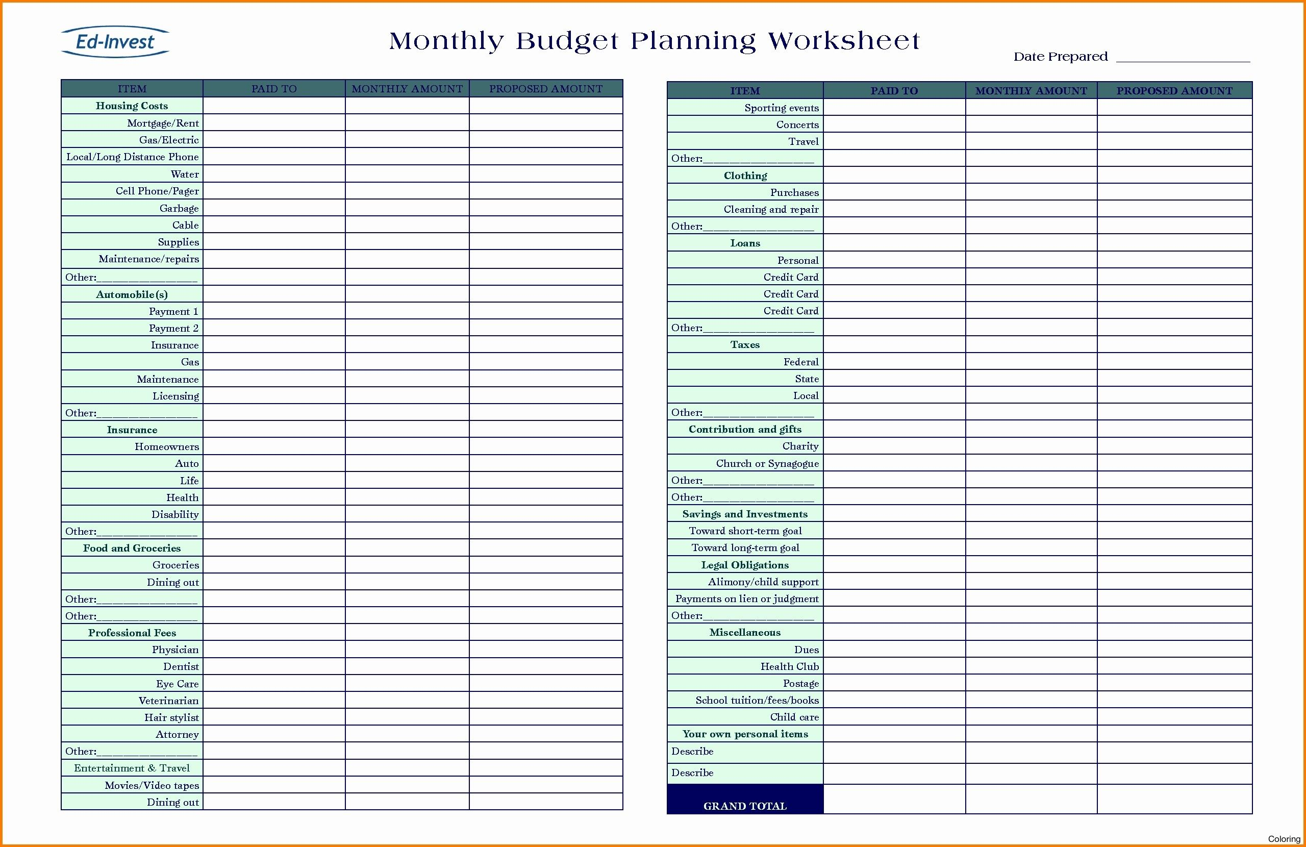 Unique Free Retirement Planning Excel Spreadsheet
