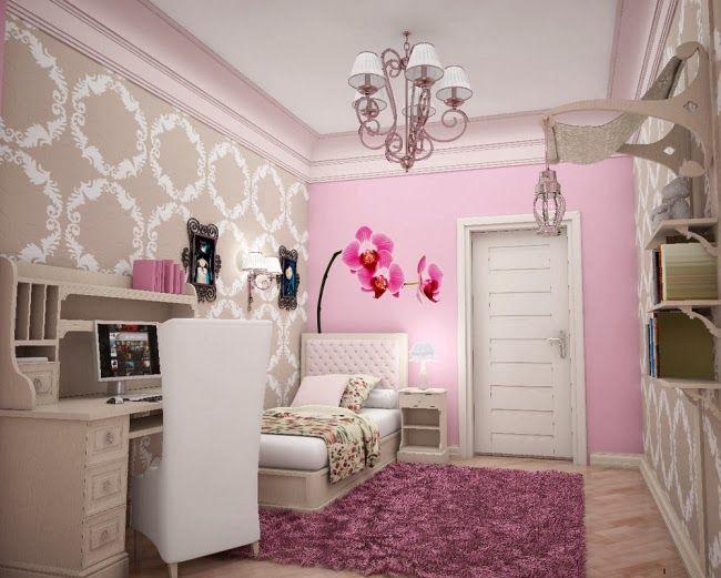 Fotos de habitaciones juveniles pequeas Habitaciones chic
