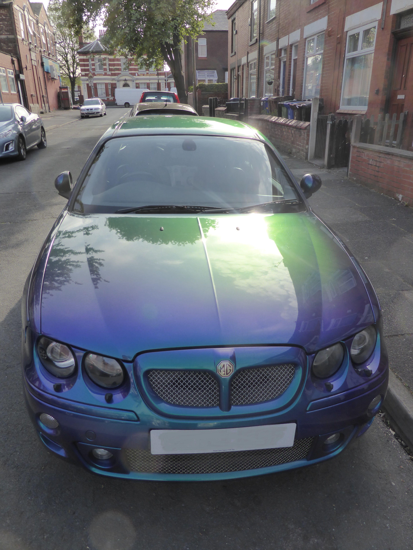 Car paint colour - Mg Zt 190 2 5 V6 Manual Box Paint Code Iab Monogram Colour Typhoon