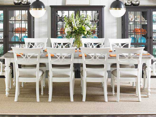 Stanley Furniture Coastal Living Retreat Saltbox White 72 X 44
