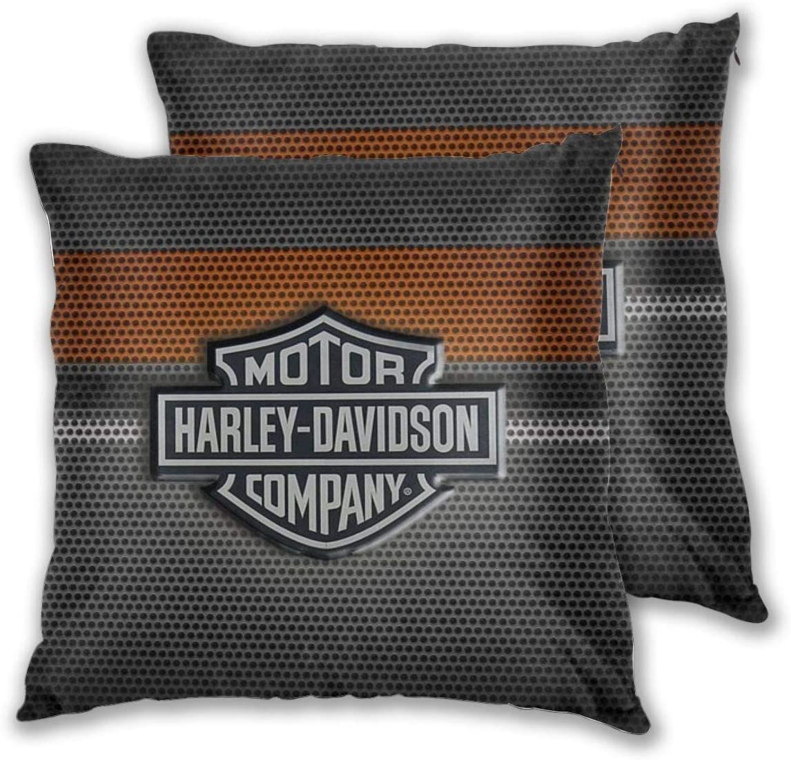 Harley Davidson Pillow Cover Pillow Covers Throw Pillow Covers Square Throw Pillow [ 1102 x 1146 Pixel ]