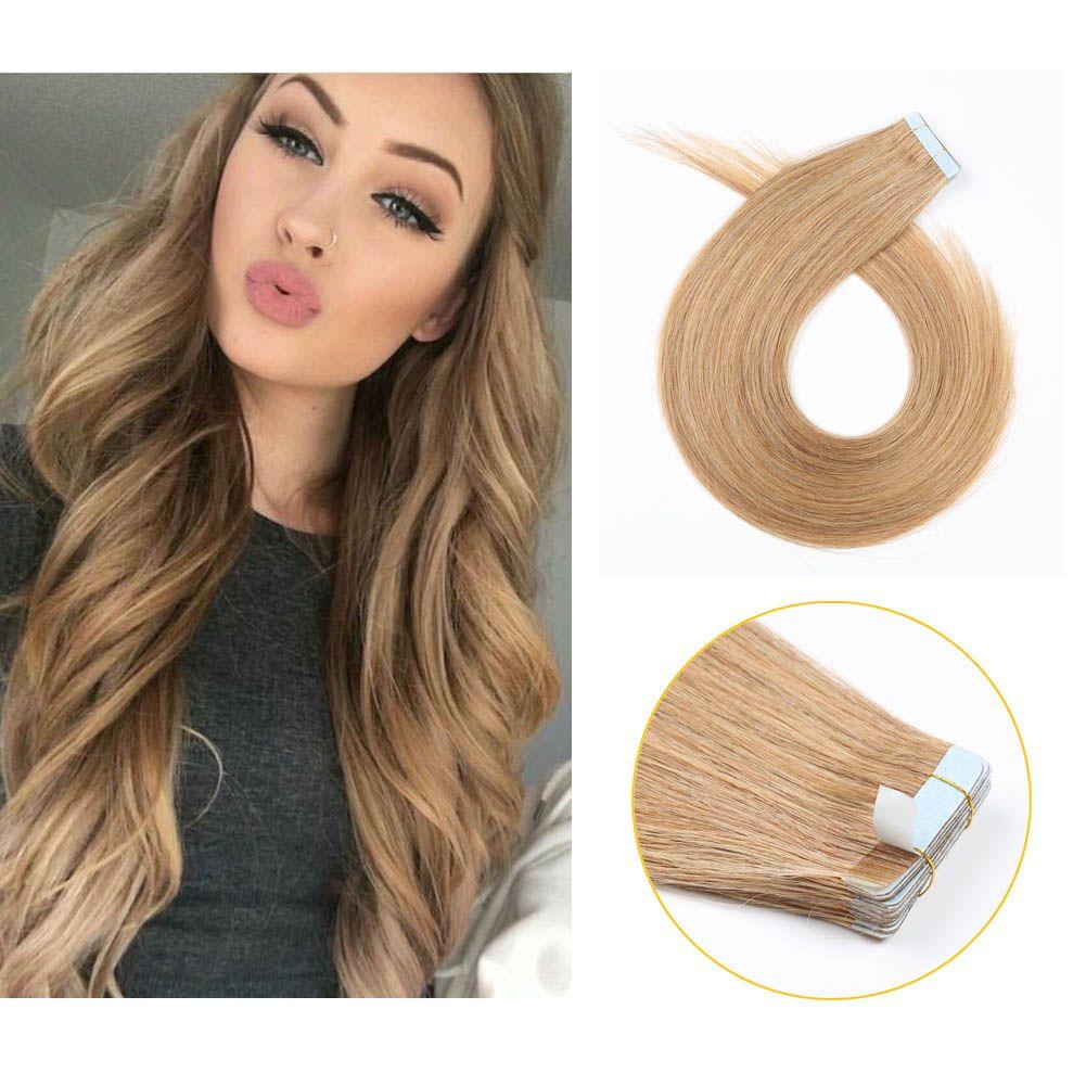 Good Quality Tape In Hair Extensions Uk 100 Virgin Real Hair 10