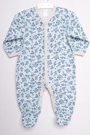 LacyWear Комбинезон DGD(126)-MEG  — 390р. ---------------------- Хлопковый комбинезон для новорожденного  В изделии использованы цвета: голубой и др.  Размер соответствует росту ребенка