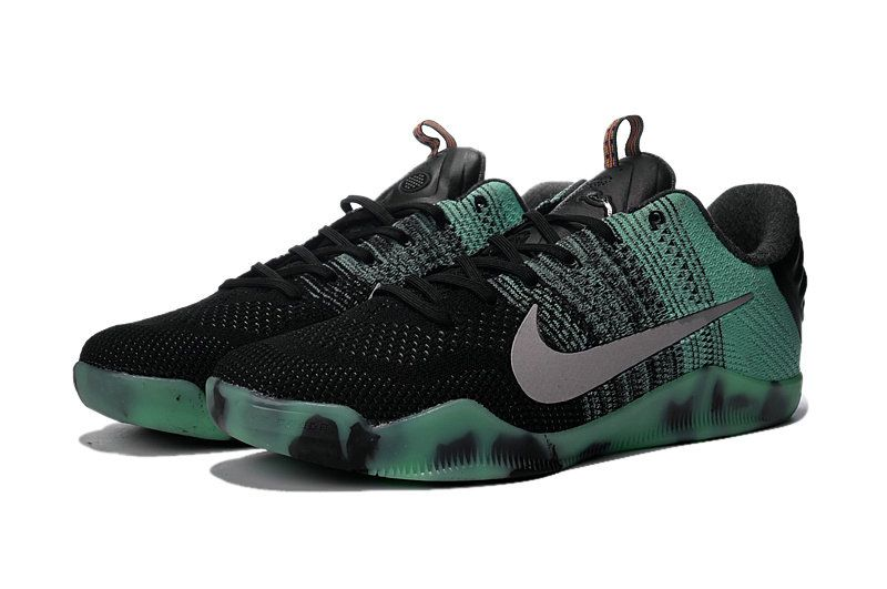 Free Shipping Only 69  Kobe 11 XI Elite All Star 822521 305 Green Glow  Black Persian Violet b133af8a09f1