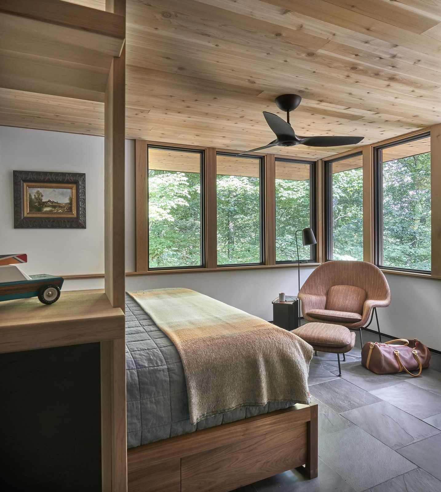 Lawless Cabin by Searl Lamaster Howe Architects in 2020