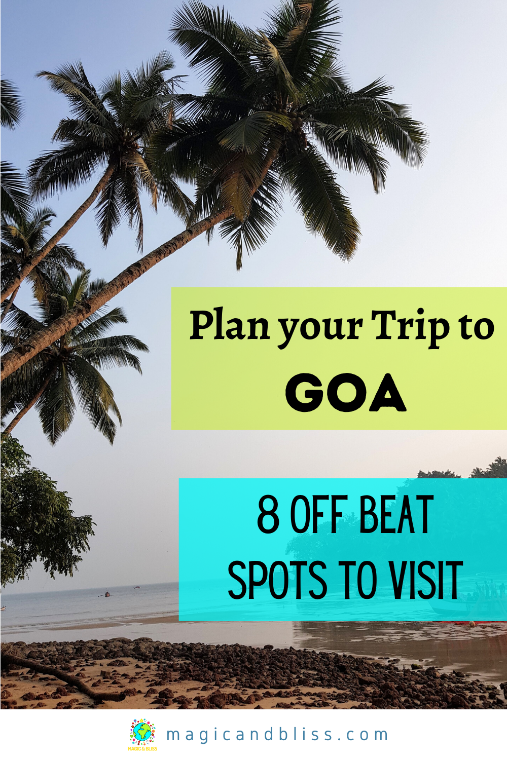 Goa is open for tourists! Plan your post pandemic goa trip now. Do not miss these off beat places to visit in Goa to quench your wanderlust needs. Read this blog to guide you to get off-beat travel ideas for Goa and plan your next Goa travel itinerary. You will learn what do do in Goa and plan an off the beaten track adventure holiday. | Future Travel Inspiration | India Travel | Best Nature Travel Destinations | #goa #goatravel #india #indiatravel #offbeattravel