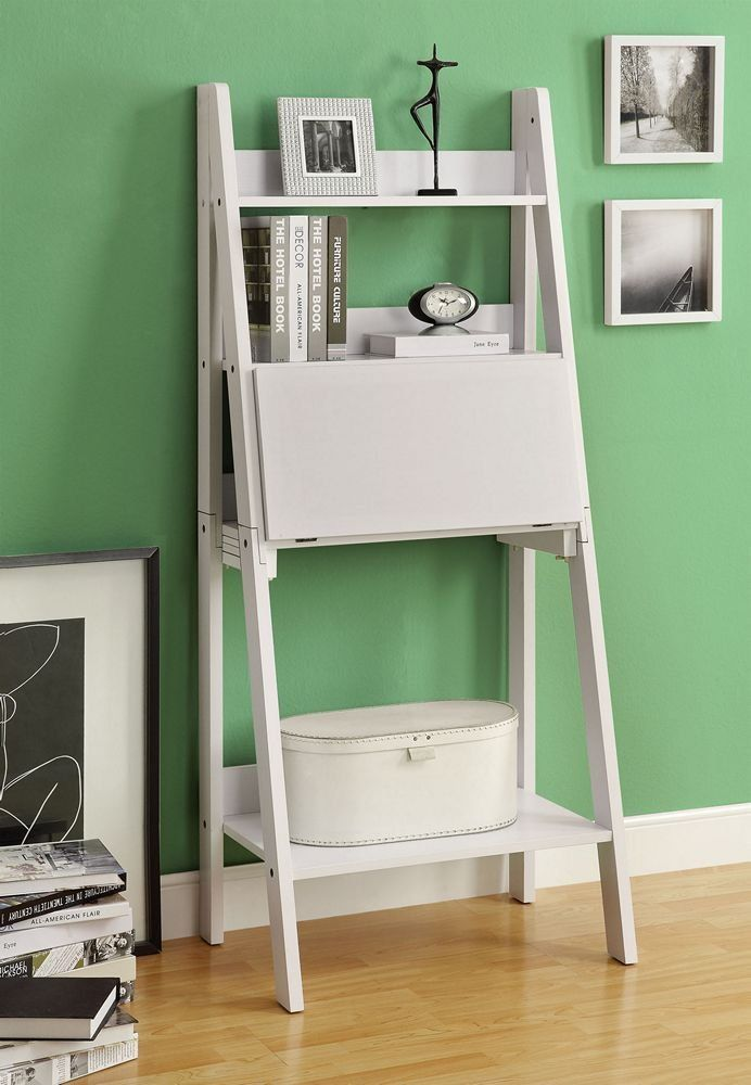Monarch Specialties High Ladder Bookcase With