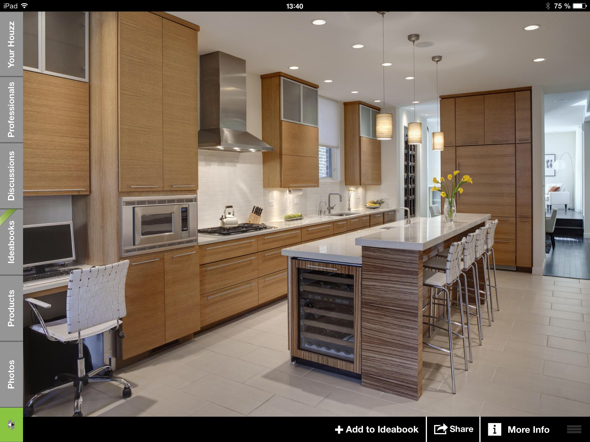 Urban Residence  Contemporary  Kitchen  Chicago  By