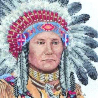 Free Native American Cross Stitch Native American Indian Maia