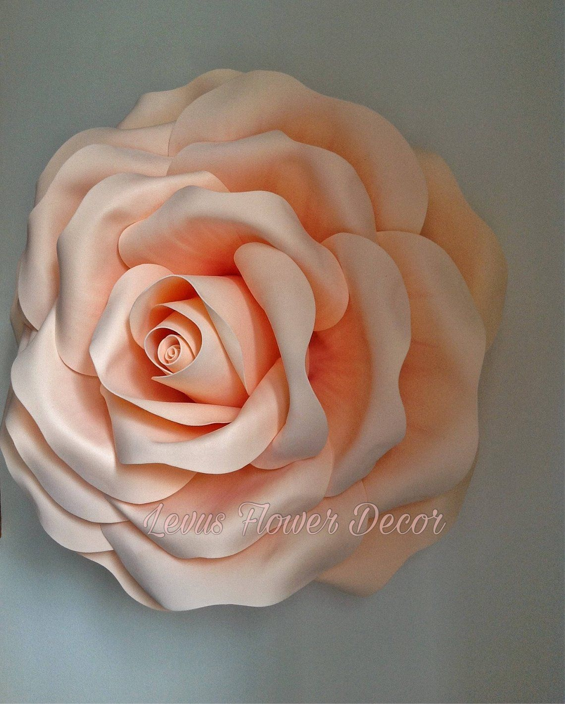 0ee44b7fbe09 Large paper flowers Giant paper flowers Paper flowers Foam flowers ...