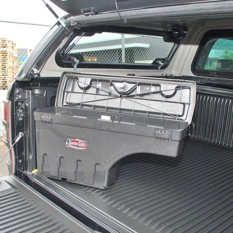 Toyota Hilux Storage Box Swingcase Custom Utes Nz Toyota Hilux Toyota Holden Colorado