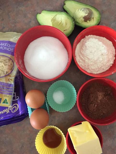 Gambar Bahan Bahan Brownies Alpukat Kue Alpukat Resep Brownies