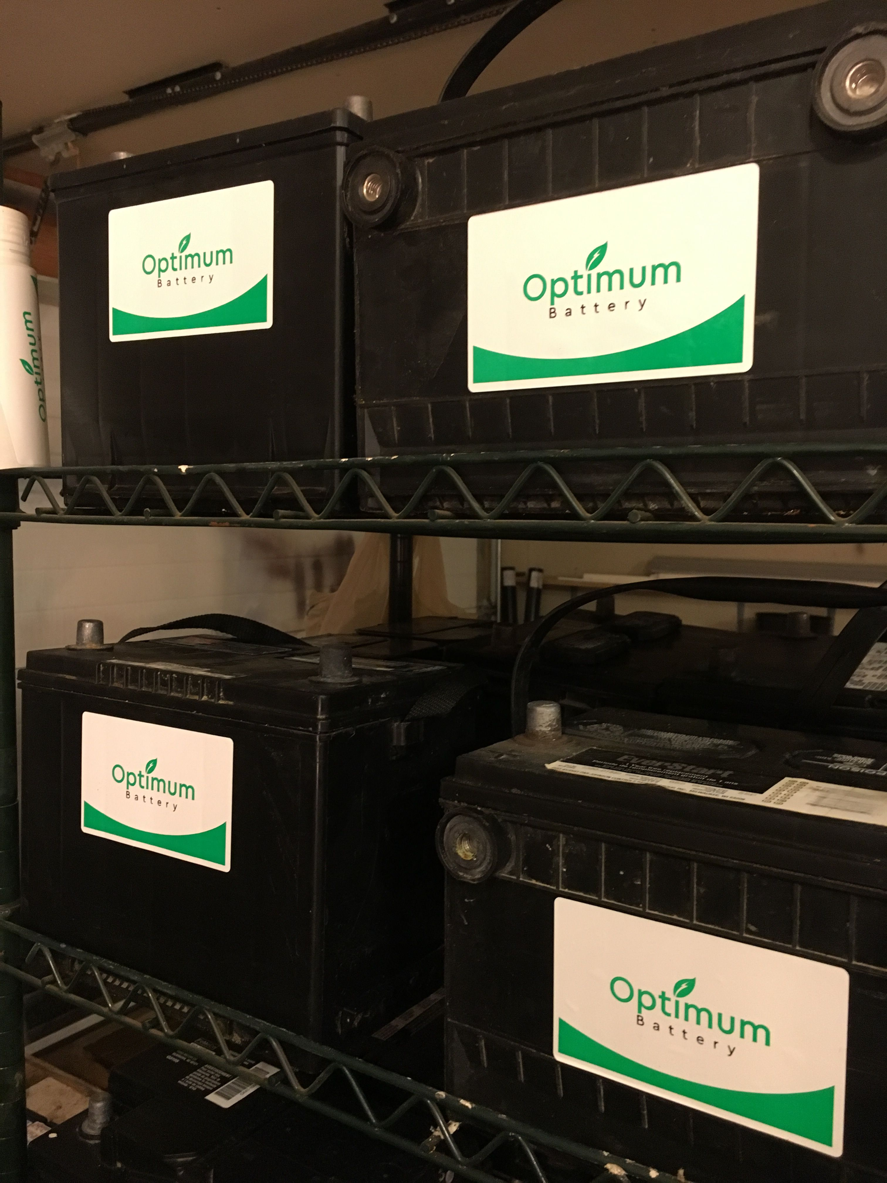 Check Out Our Used And Refurbished Automotive Batteries For Only 45 Take An Additional 10 Off For Each Bat Optima Battery Car Battery Jump A Car Battery