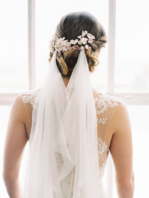 ARIEL SILK TULLE BRIDAL VEIL   Kirchliche trauung und Outfit
