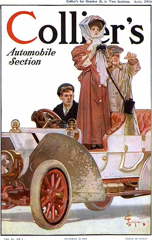J. C. Leyendecker - Collier's, Automotive Section (1907)
