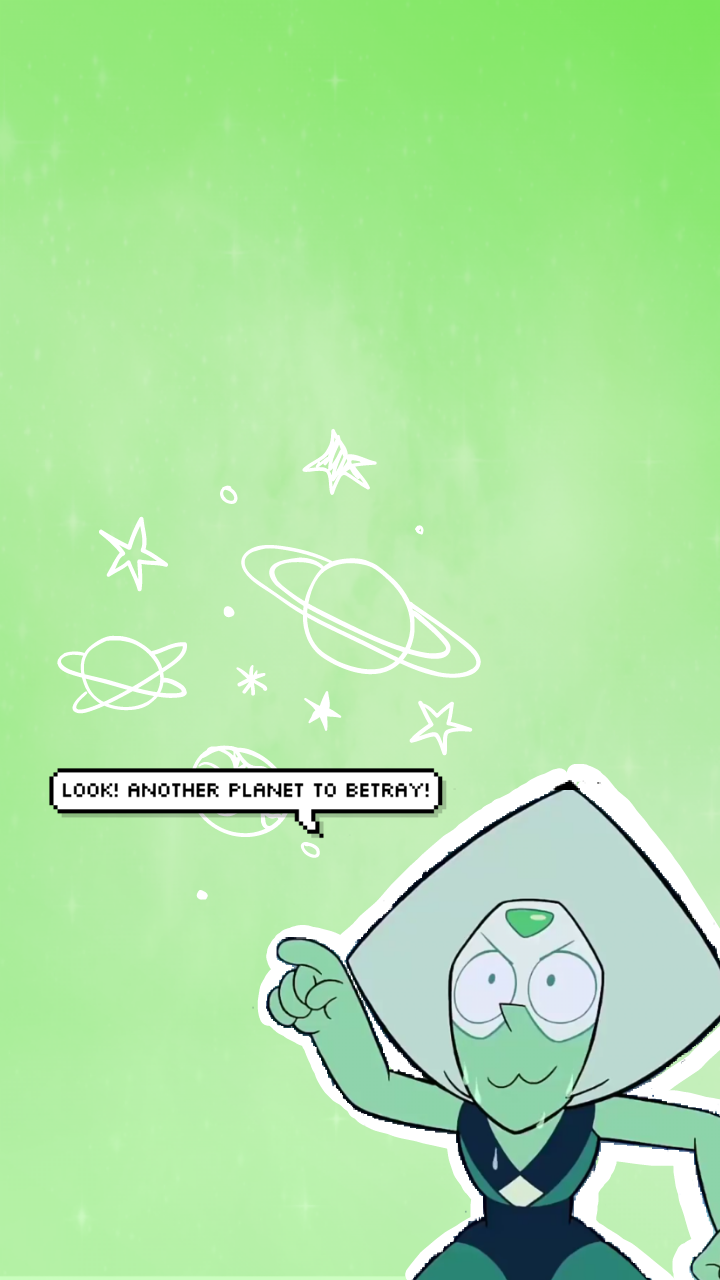 Peridot Wallpapers Requested By Imperialfanboy Please Like X2f Reblog If You Use Steven Universe Wallpaper Peridot Steven Universe Steven Universe Fanart