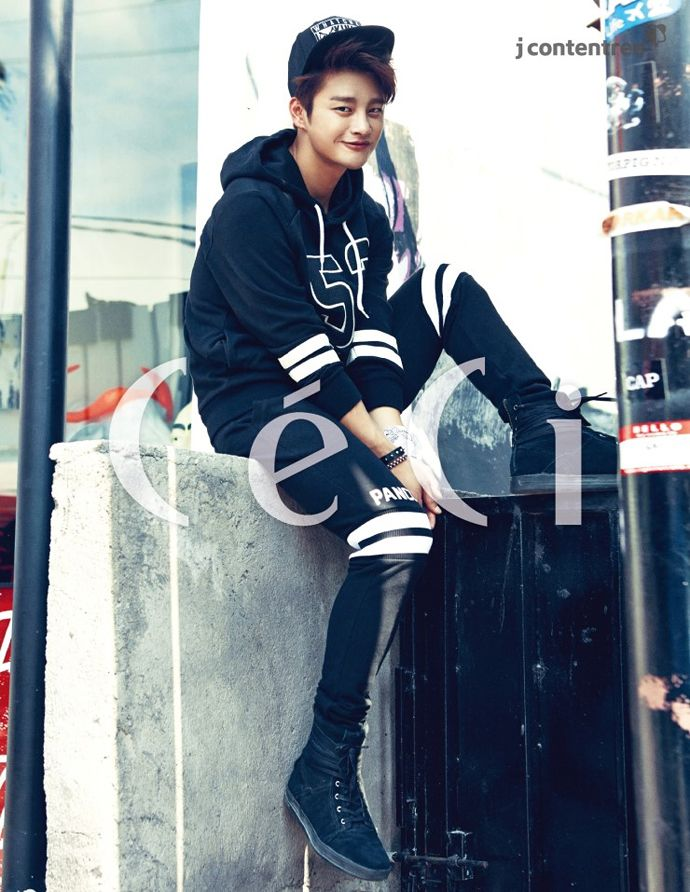 Seo In Gook Is The King Of The Streets For CéCi's October 2014 Issue | Couch Kimchi