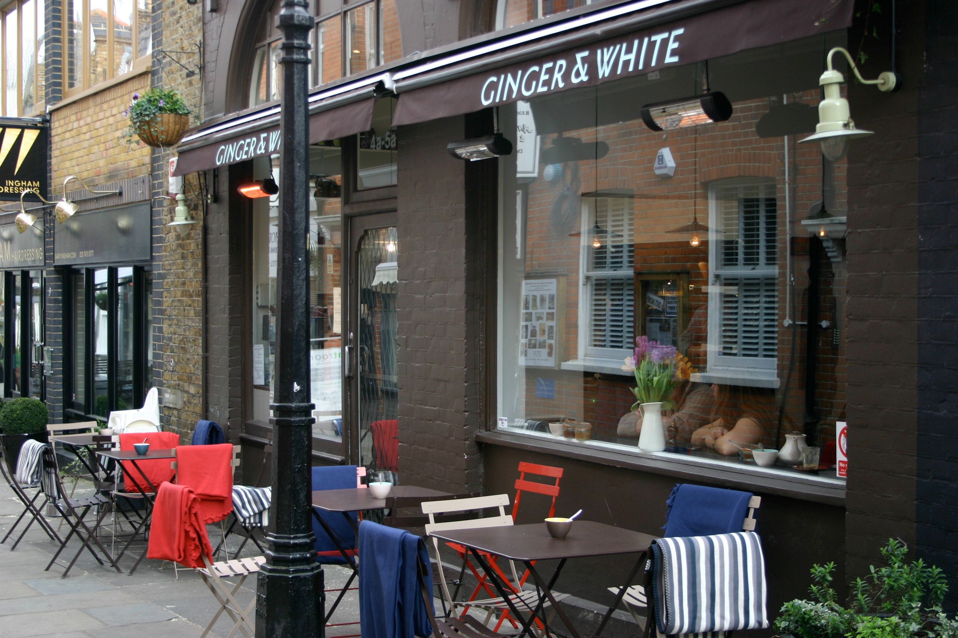 Ginger White Hampstead Hipster Coffee Shop Cafe Style Coffee Shop