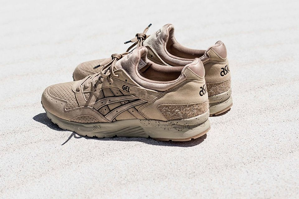 ASICS Tiger Gel Lyte V x monkey time Sand Layer is a new collab between  United Arrow s sub-brand monkey time and ASICS Tiger. b61de285e552