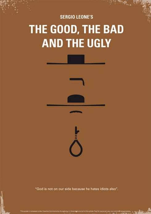 verticaal/horizontaal -  http://theultralinx.com/2011/08/48-minimal-movie-poster-designs.html
