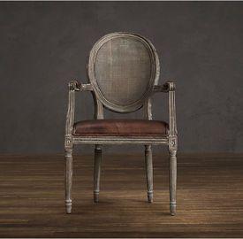 custom scroll back burgundy oak leather dining room chair modern