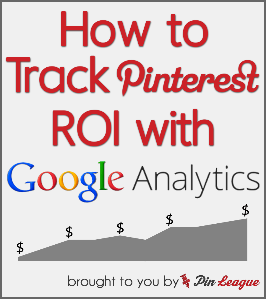 track roi with  pinterest  google analytics integration in
