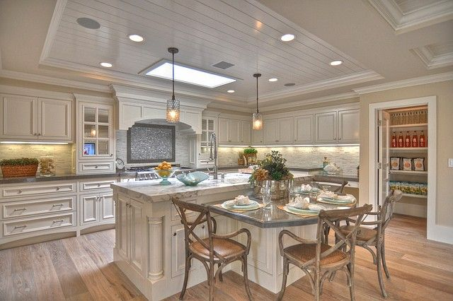 Ranch Style House Lovely Ranch House Design Idea Magnificent Ranch Style House Kitc Curved Kitchen Island Kitchen Island Design Kitchen Island With Seating