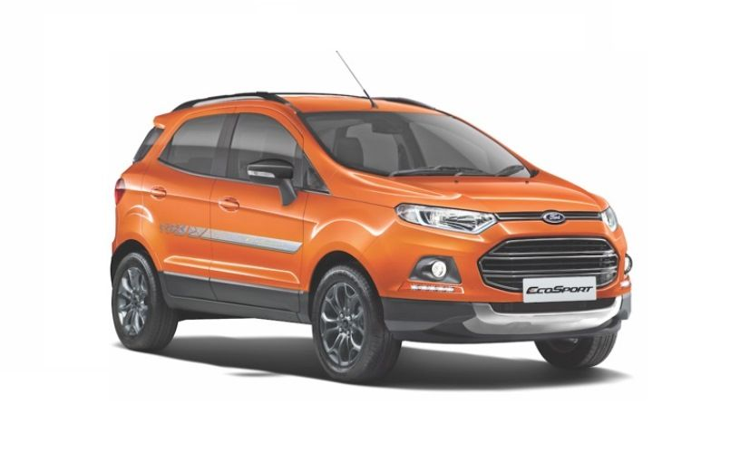 Ford Ecosport Signature Edition Launched In India At Inr 9 26 Lakhs With Images Ford Ecosport Ford Car