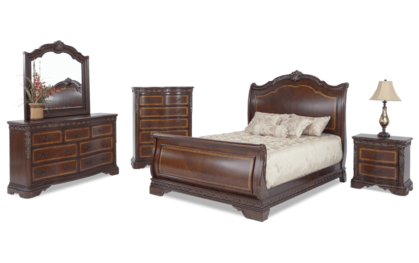 Majestic Bedroom Set Bob S Discount Furniture King Bedroom Sets Bedroom Sets Queen Bedroom Sets