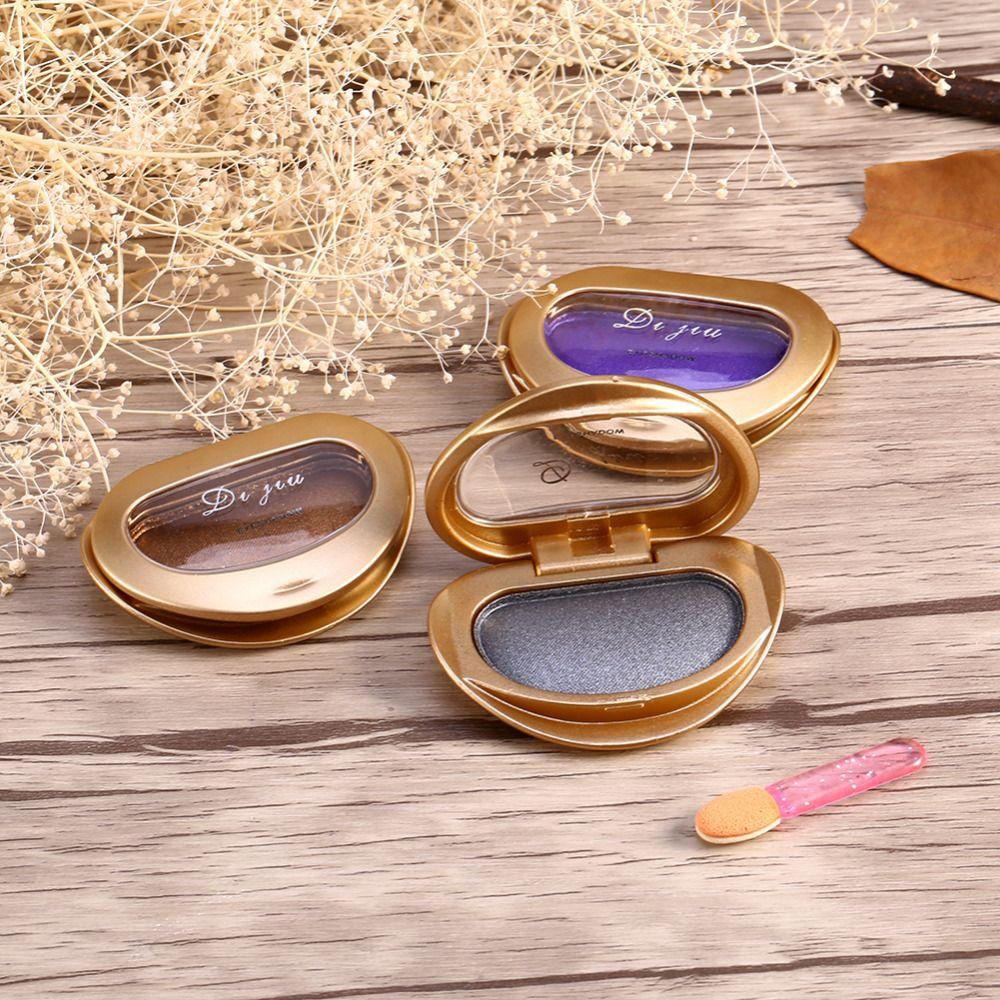Single Baked Eye Shadow Powder Makeup Palette in Metallic
