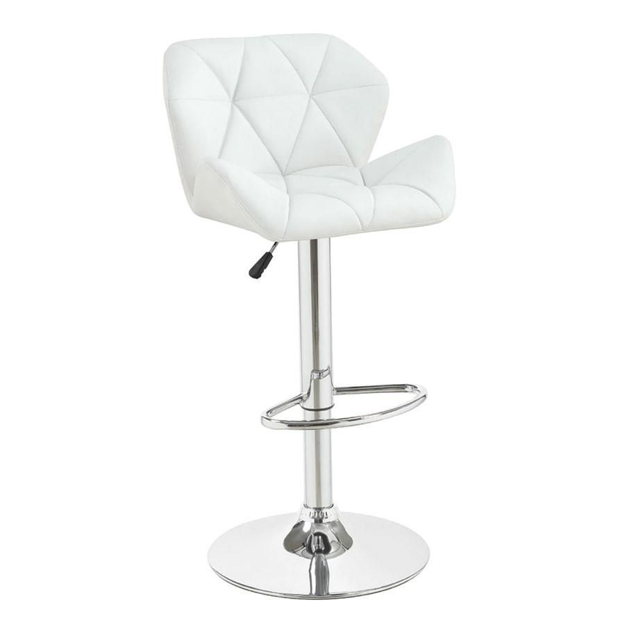 Description This Contemporary Height Adjustable Stool With A Unique Style Brings Comfort And Sophistication Toget Adjustable Bar Stools Adjustable Chairs Chair
