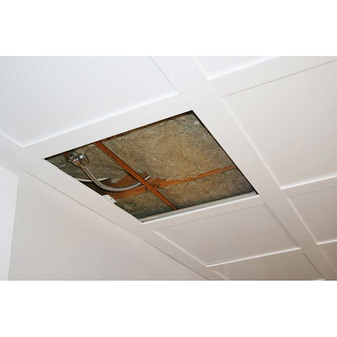 Embassy Suspended Ceiling Kit 80 Sq X2f Ft Basement Ceiling Drop Ceiling Basement Suspended Ceiling
