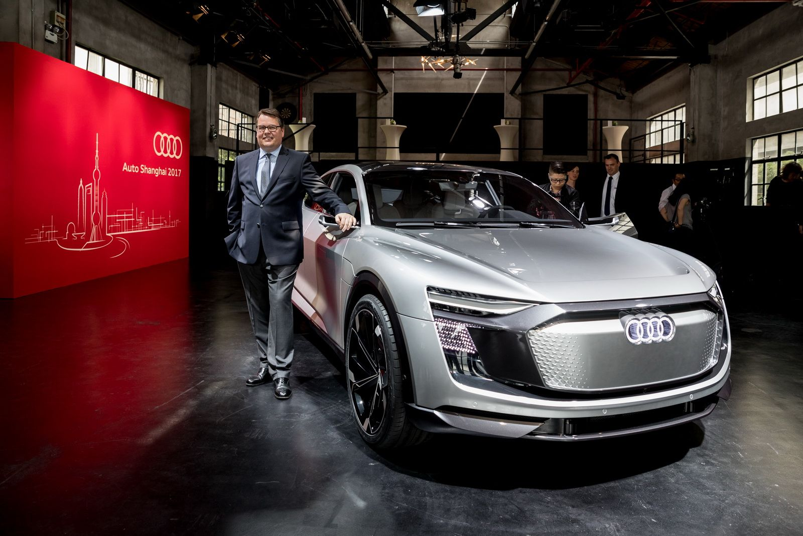 New E Tron Sportback Concept Is Like Audiu0027s Electric Lambo Urus