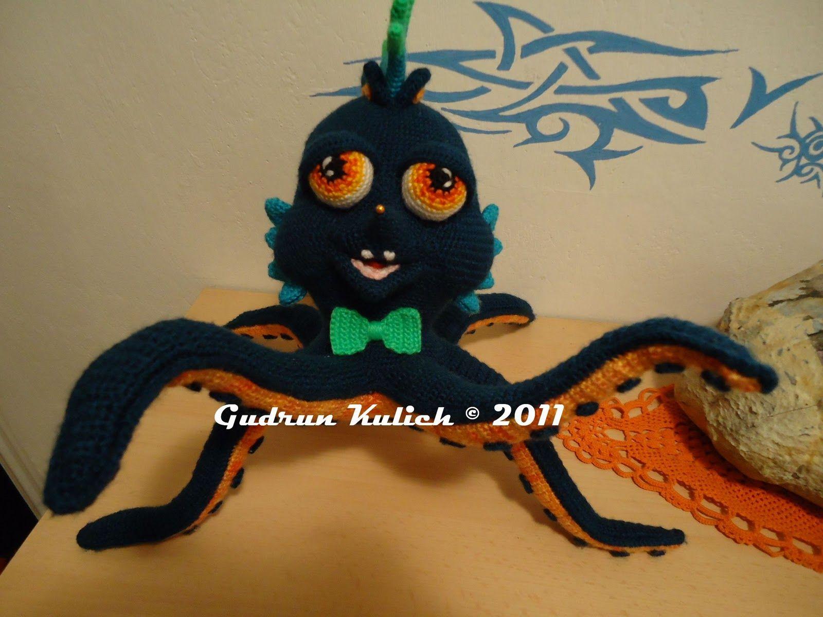 AMIGURUMI ARTIST: Punky Squid