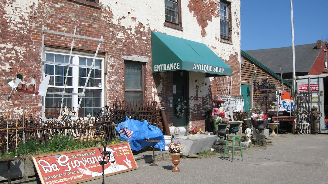 Antiques at The Old Commercial House, Winterport, Maine another favorite  W e loved antiquing in Maine