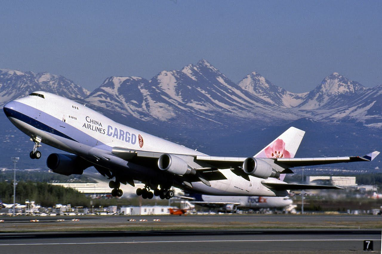 KUALA SKYLAB CHINA AIRLINES CARGO. BOEING 747 AT