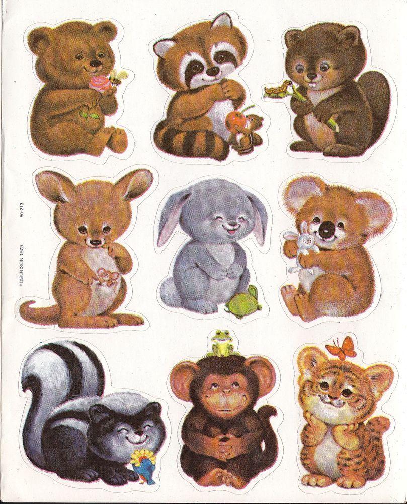 рисунки животных для скрапбукинга искусственного