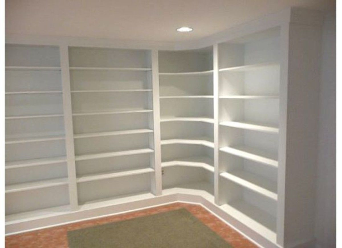 I Like The Idea Of Bringing The Bookcases Around The