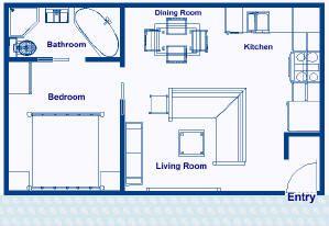 375 Sq Ft Private Residence Floor Plans